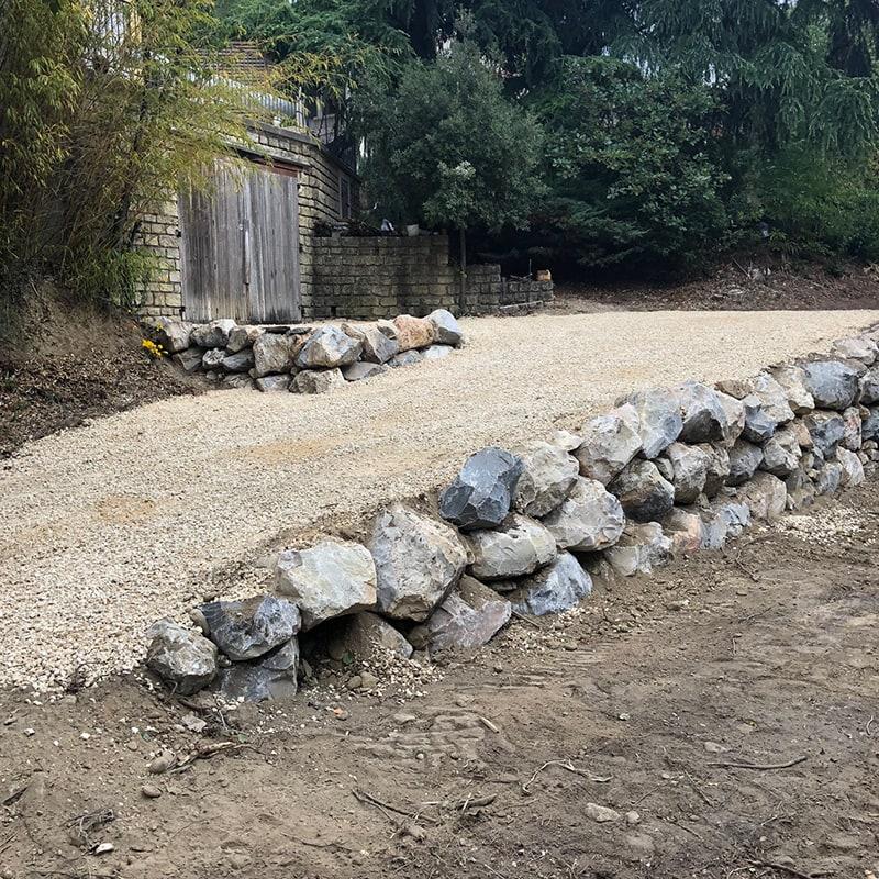 Murs de soutènement Gard
