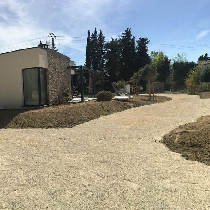 Aménagement de terrain Rochefort du Gard